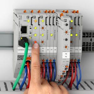 Protezione elettronica Phoenix Contact, sistema modulare CAPAROC